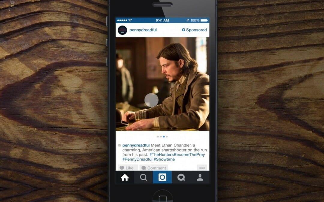Propaganda no instagram
