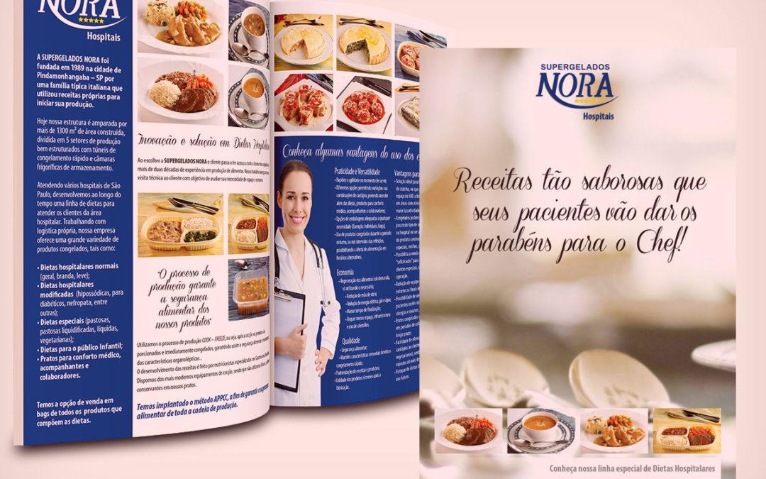 No Portifólio: Nora Alimentos – Dietas Hospitalares