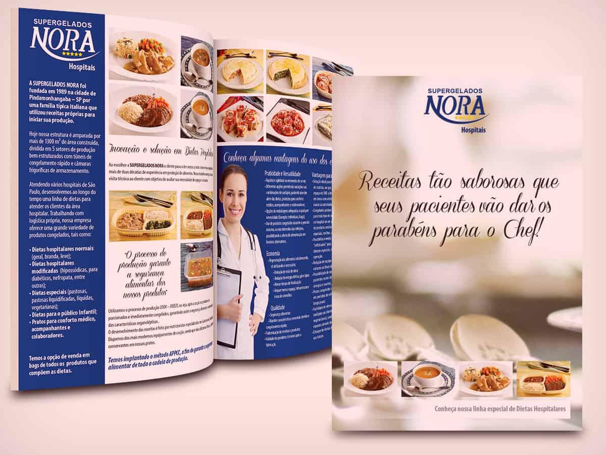 Nora Alimentos - folder - acredite-co