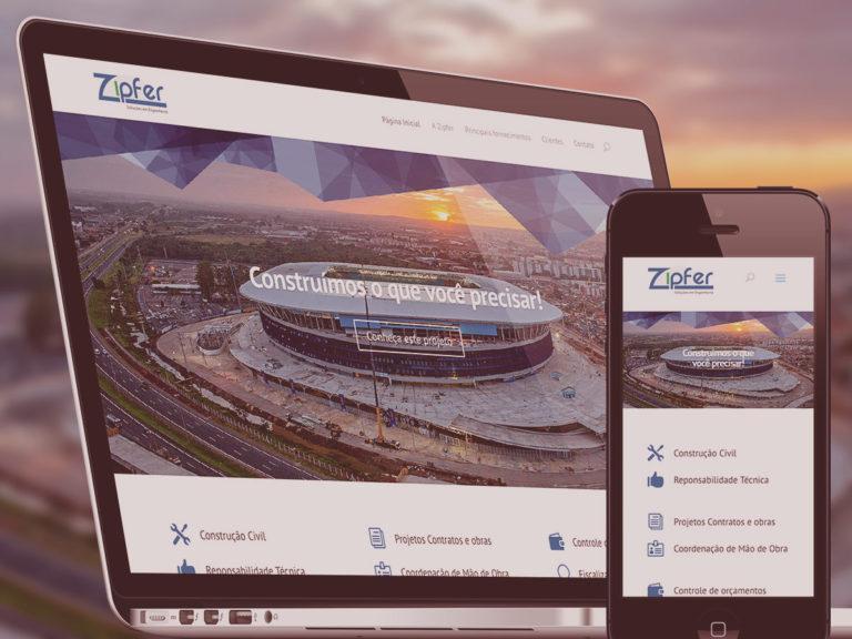 Site Zipfer – Soluções em Engenharia