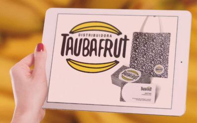 No portifólio: Marca Taubafrut Bananas Climatizadas