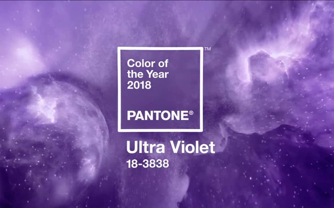 Pantone® Ultra Violet Cor do Ano 2018 - Acredite.Co