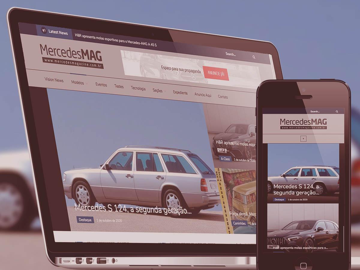 Site Mercedes Magazine - Acredite.Co