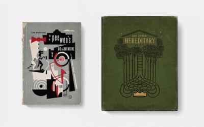 Filmes como capa de livros antigos
