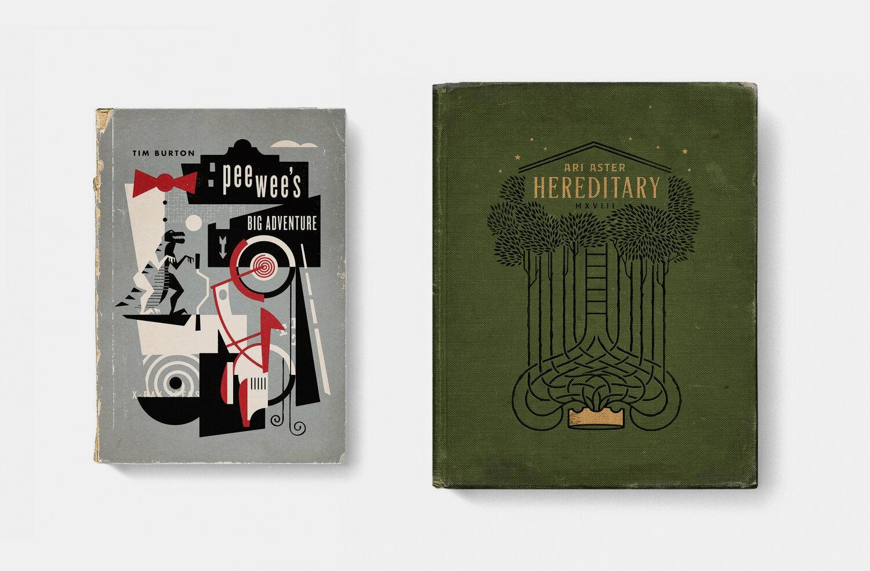 Filmes como capa de livros antigos-AcrediteCo03